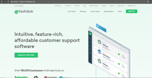 Freshdesk customer support tool